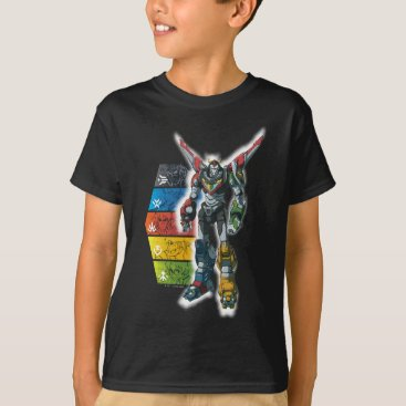 voltron Voltron | Voltron And Pilots Graphic T-Shirt