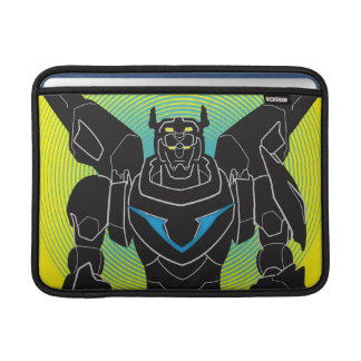 Voltron | Voltron Black Silhouette MacBook Air Sleeve