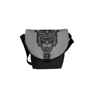 Voltron | Voltron Head Fractured Outline Courier Bag