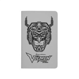 Voltron   Voltron Head Fractured Outline Journal
