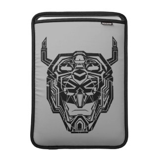 Voltron | Voltron Head Fractured Outline MacBook Air Sleeve