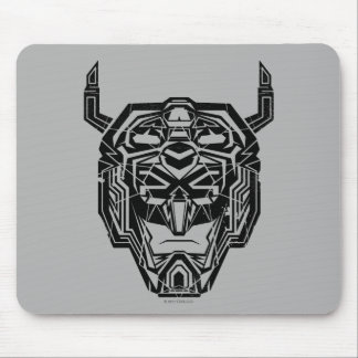 Voltron | Voltron Head Fractured Outline Mouse Pad