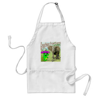 Volts Dragon Africa Elephant Aprons