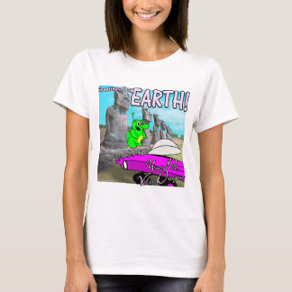 Volts Dragon Easter Island T-Shirt