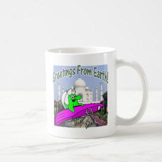 Volts Dragon Taj Mahal Classic White Coffee Mug