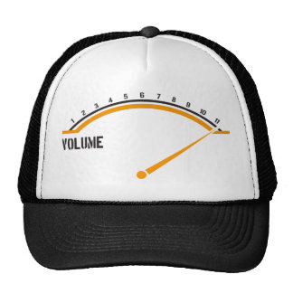 Volume Goes to Eleven Hats