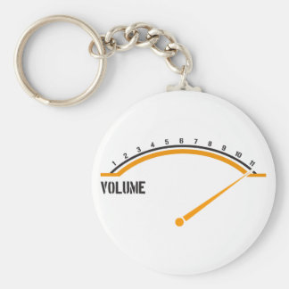 Volume Goes to Eleven Key Chain