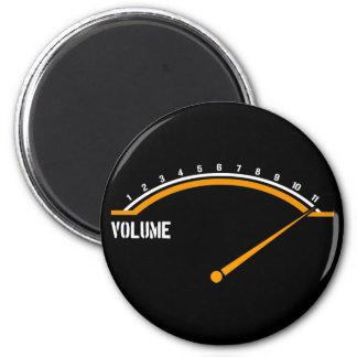 Volume Goes to Eleven Fridge Magnets