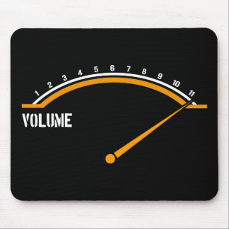 Volume Goes to Eleven Mouse Pad