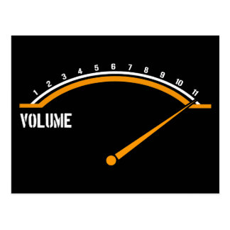 Volume Goes to Eleven Post Cards