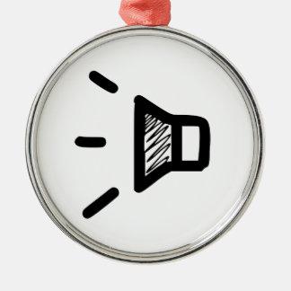 Volume Icon Ornament