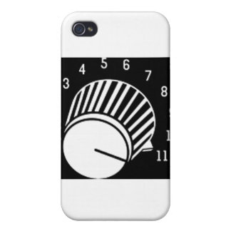 VOLUME KNOB 11 CASE FOR iPhone 4