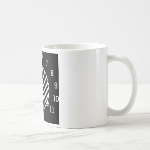 VOLUME KNOB 11 COFFEE MUGS