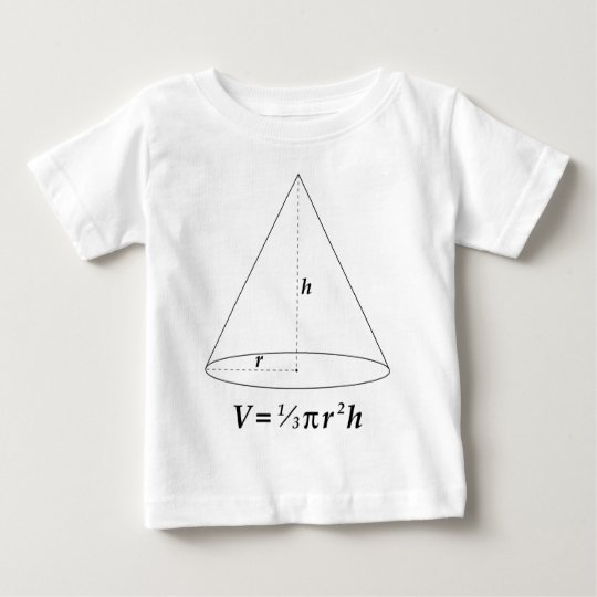 Volume of a Cone Baby T-Shirt
