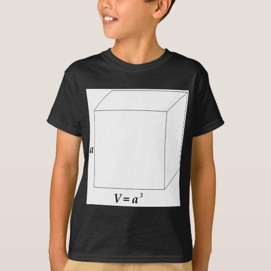 Volume of a Cube T-Shirt
