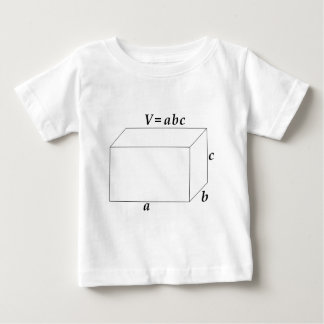 Volume of a Rectangular Prism Baby T-Shirt