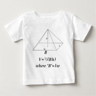 Volume of a Rectangular Pyramid Infant T-shirt