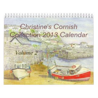 """""""Volumen de Cornualles 2"""" de la colección de Chris Calendario De Pared"""