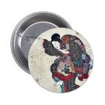 Volumen uno por Utagawa, Toyokuni Ukiyoe Pin