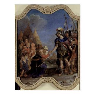 Volumnia antes de Coriolanus, 1643 Postal