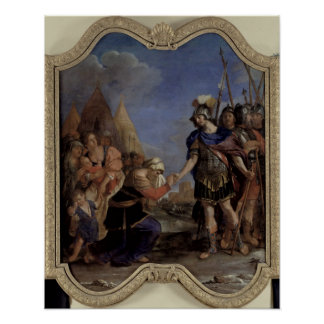 Volumnia before Coriolanus, 1643 Poster
