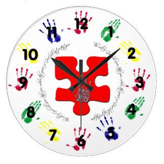 Voluntad de dios reloj redondo grande