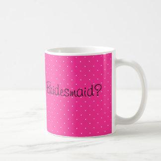 Voluntad manchada rosada usted sea mi taza de café