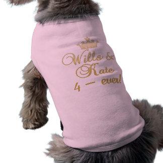 Voluntades y camisetas de Kate 4-Ever, tazas, rega Ropa De Mascota