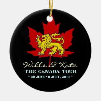 Voluntades y ornamento de Kate CANADÁ negro Ornatos