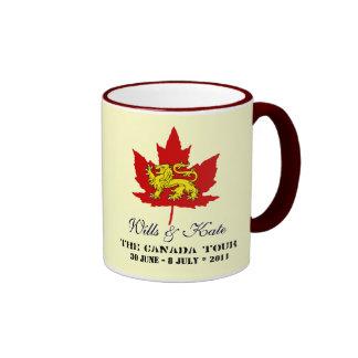 Voluntades y taza del viaje de Kate CANADÁ