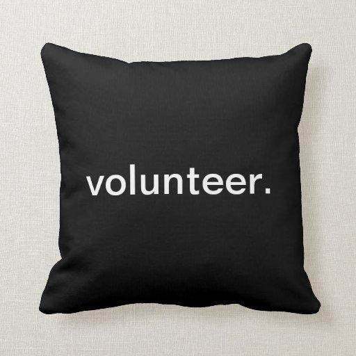 Voluntario Cojin