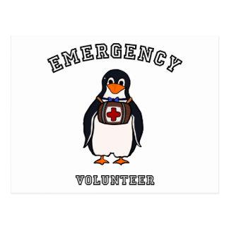 Voluntario de la emergencia postal