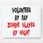 Voluntario del asesino del zombi tapetes de ratones