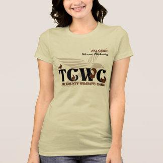 Voluntario del logotipo de TCWC - especialista de Playera