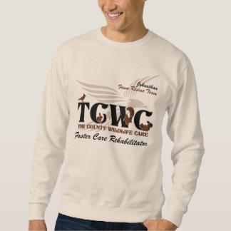 Voluntario del logotipo de TCWC - especialista de Sudadera