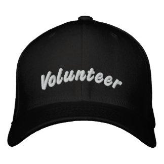 Voluntario Gorras De Beisbol Bordadas