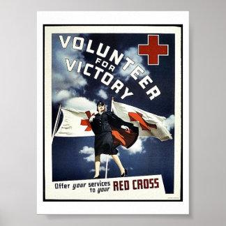 Voluntario para la victoria impresiones