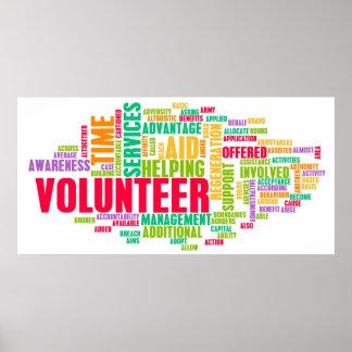 Voluntario Póster