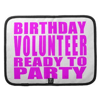 Voluntarios: El cumpleaños voluntario alista para Planificadores
