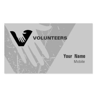 Voluntarios Tarjeta De Visita