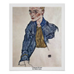 Voluntary Private By Schiele Egon Posters