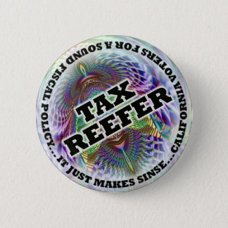 Voluntary TAX, let Smokers Pay... Pinback Button