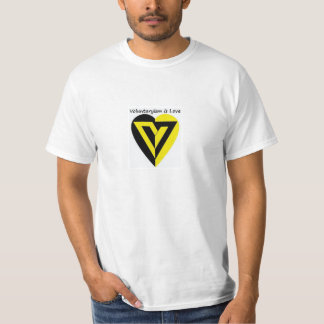 Voluntaryism is Love - T-shirt