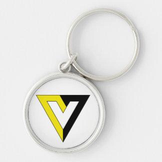 Voluntaryism Symbol Keychain