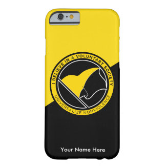 Voluntaryist Barely There iPhone 6 Case