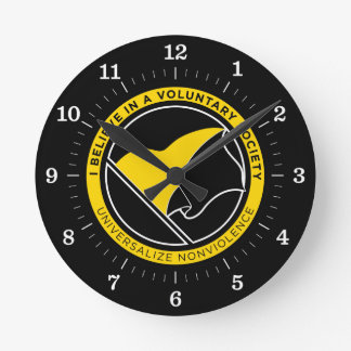 Voluntaryist Clock