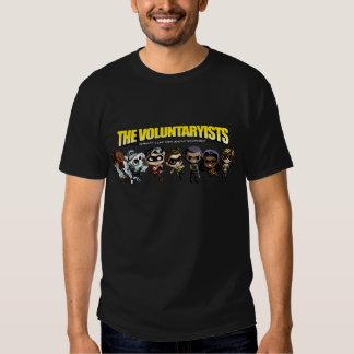 Voluntaryist Comic - Chibi Characters Shirt