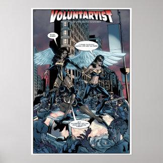 Voluntaryist contra el poster de los zombis del St