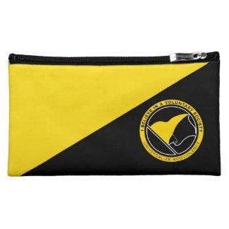 Voluntaryist Cosmetic Bags