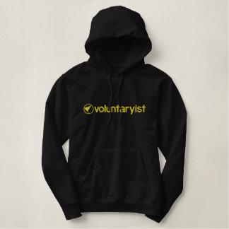 Voluntaryist Embroidered Hoodie